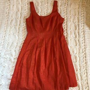 Red Orange Dress
